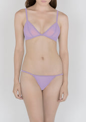 Sheer Essential Pastels - Triangle Bra