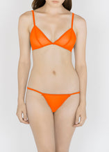 Load image into Gallery viewer, Sheer Essentials - French Tulle Triangle Bra - DEBORAH MARQUIT