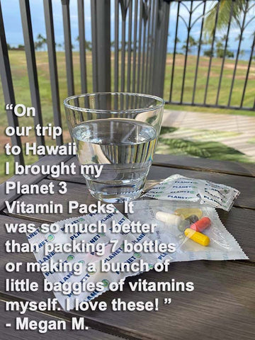 Planet 3 Vitamin Packs Go To Hawaii With Megan