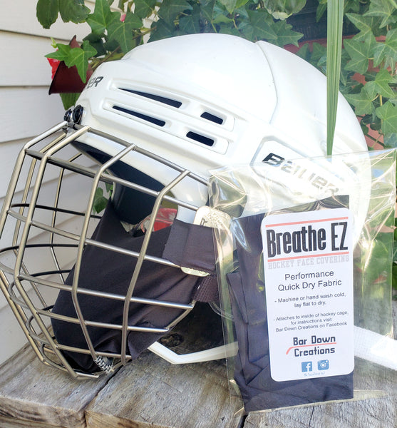 Hockey Cage Face Covering