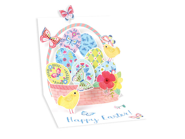 Easter Butterfly Basket