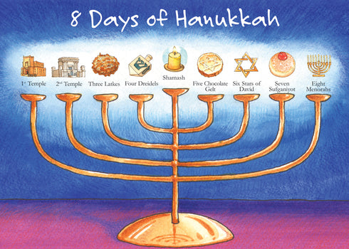 8 Days of Hanukkah Boxed