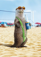 Otter Wearing Mankini