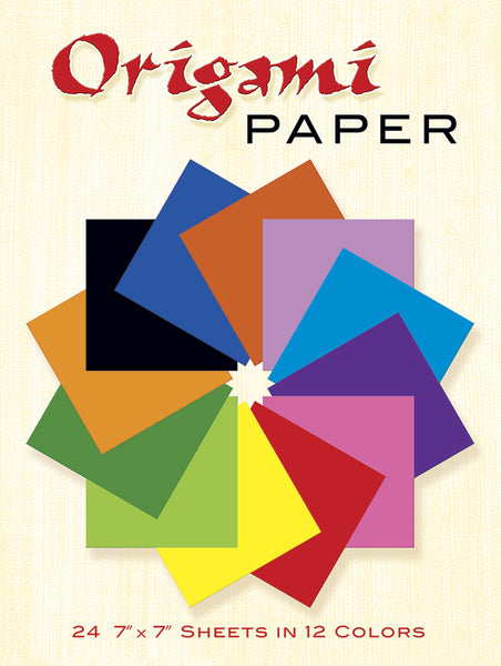 Origami Paper 24 7 X 7 Sheets In 12 Colors