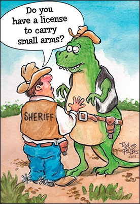 Sheriff Confronting A T