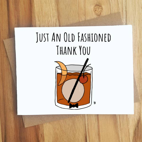 Just An Old Fashioned Thank You