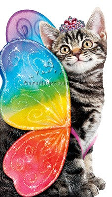 Rainbow Butterfly Kitten Big