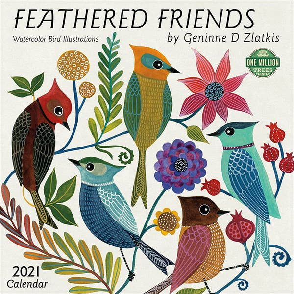 2021 Feathered Friends Wall Calendar