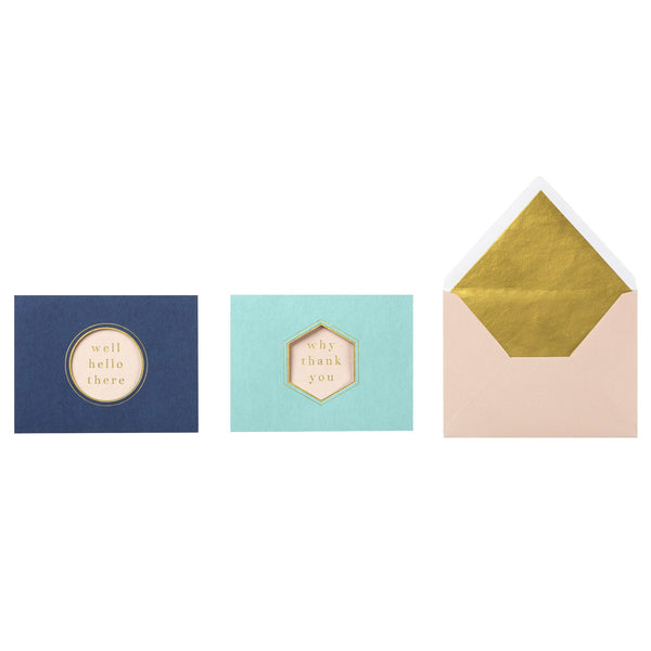 Boxed Assorted Thank You Notes Empire