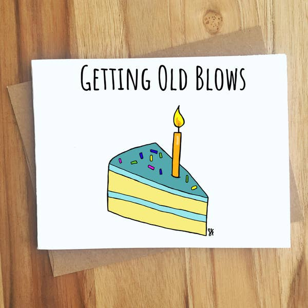 Getting Old Blows Cake