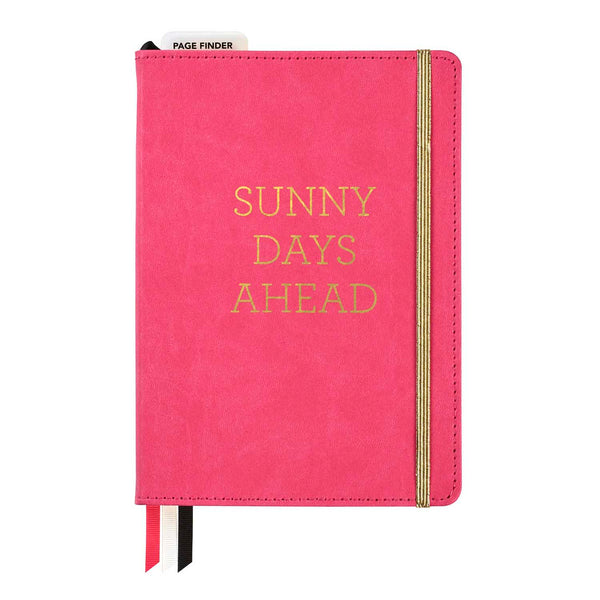 "Freestyle Planning Journal - ""Sunny Days Ahead"" - Pink"