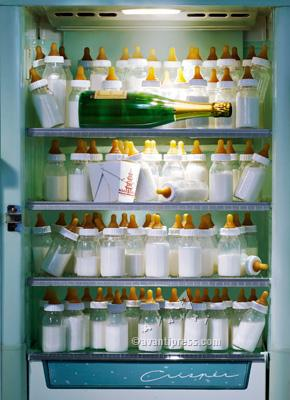 Baby Bottle Fridge