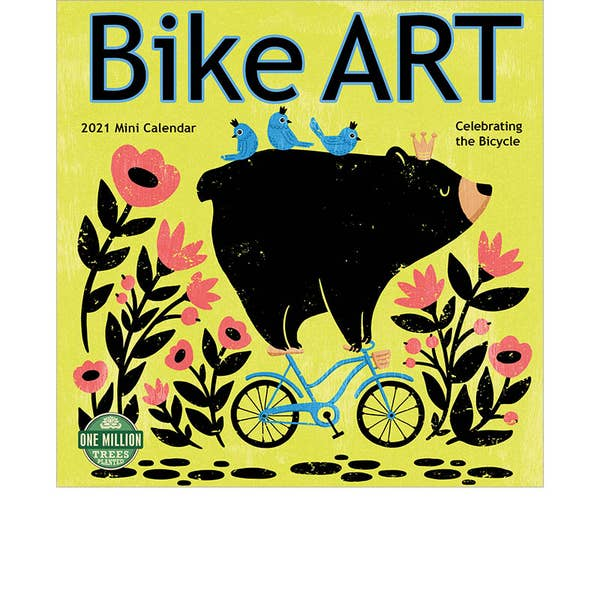 Bike Art 2021 Mini Calendar
