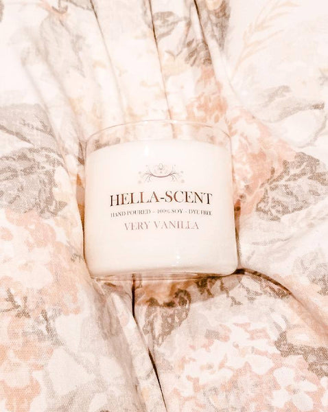 Hellascent Dye Free Candle