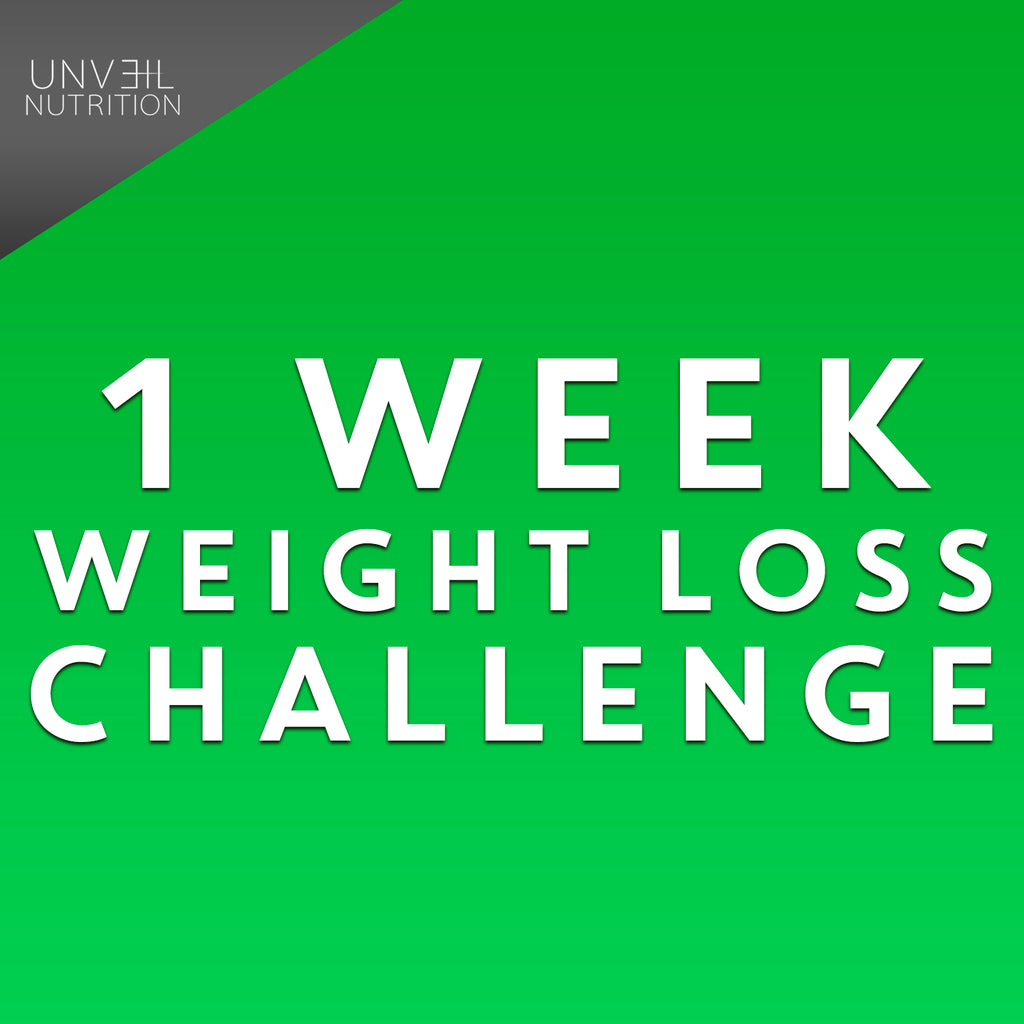 1 WEEK WEIGHT LOSS CHALLENGE
