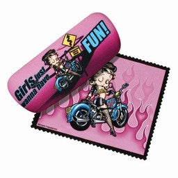 Betty Boop Biker Sunglasses Case