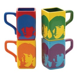 Beatles Square Mug Set