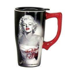 Marilyn Monroe Some Like It Hot Travel Mug w/ Handle