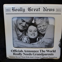 Really Great News Picture Frame