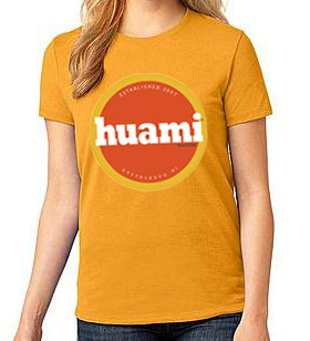 Ladies Golden Huami Magazine Circle (Short Sleeve)