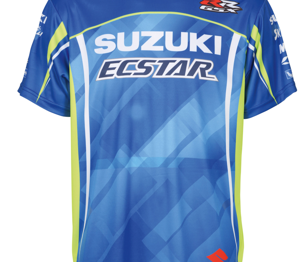 Suzuki MotoGP Team T-shirt Sublimated Print Kids' 2018