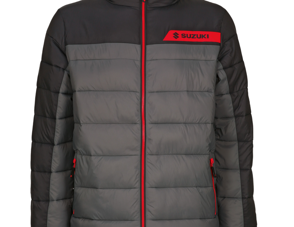 Suzuki Team Black Quilted Jacket