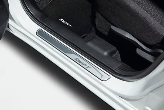 Suzuki Swift Door sill Trim Set - Aluminium