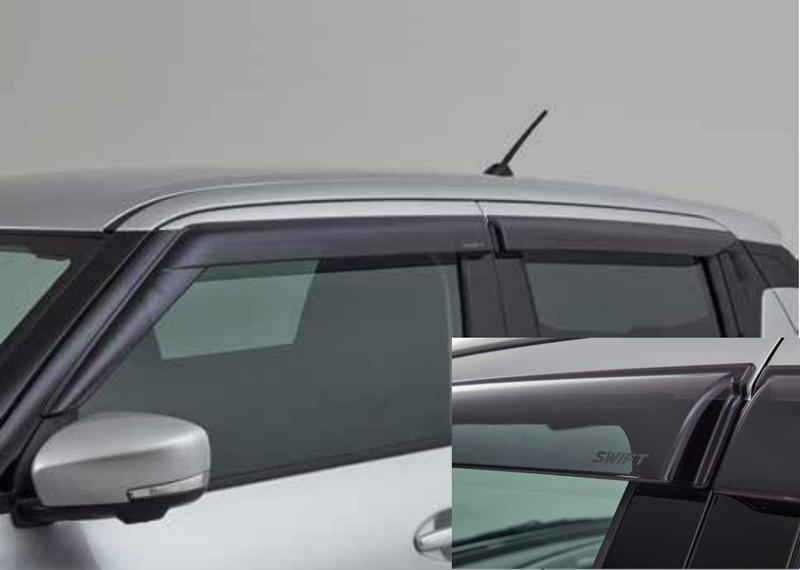 Suzuki Rain and Wind Deflector Set - Smoked