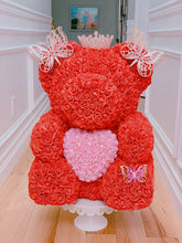 Load image into Gallery viewer, Red Roses Bear