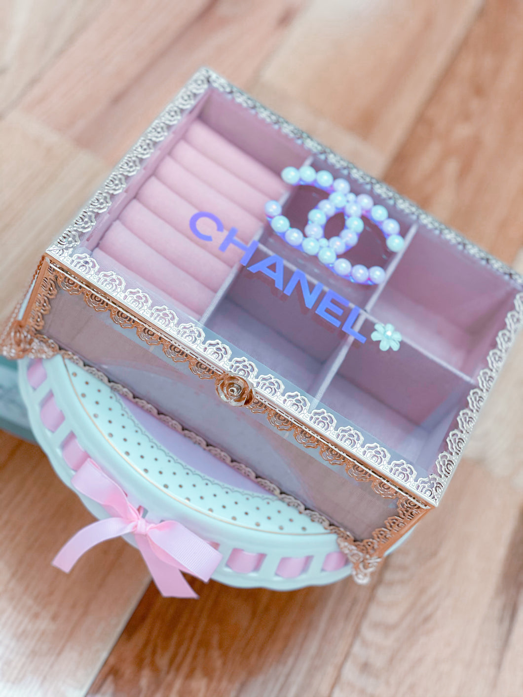 Inspired Chanel Jewerly Box