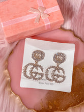 Load image into Gallery viewer, Gold GG Fashion earrings