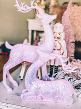 Load image into Gallery viewer, Pink Glittery Reindeer's