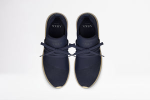 ARKK Collection Raven Nubuck S-E15 Navy Tan - Women Raven Navy