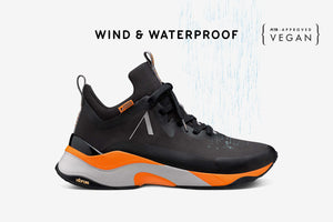 ARKK Collection Stormrydr Nylon HL VULKN Vibram Black Orange Glory - Women Stormrydr