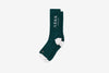 ARKK Accessories The High Sock - Essential Garden Green White Socks Garden Green White