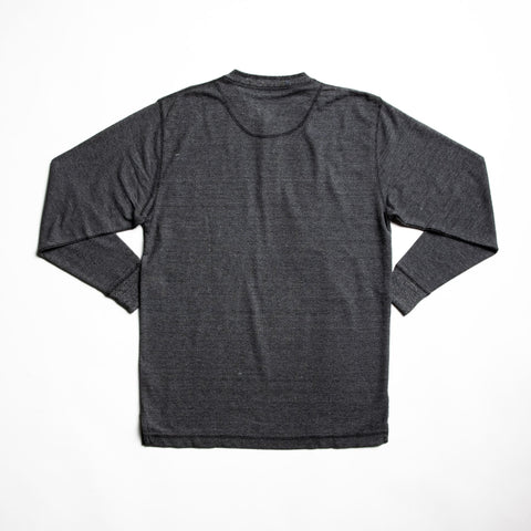 Image of Charcoal hartley long sleeve t-shirt