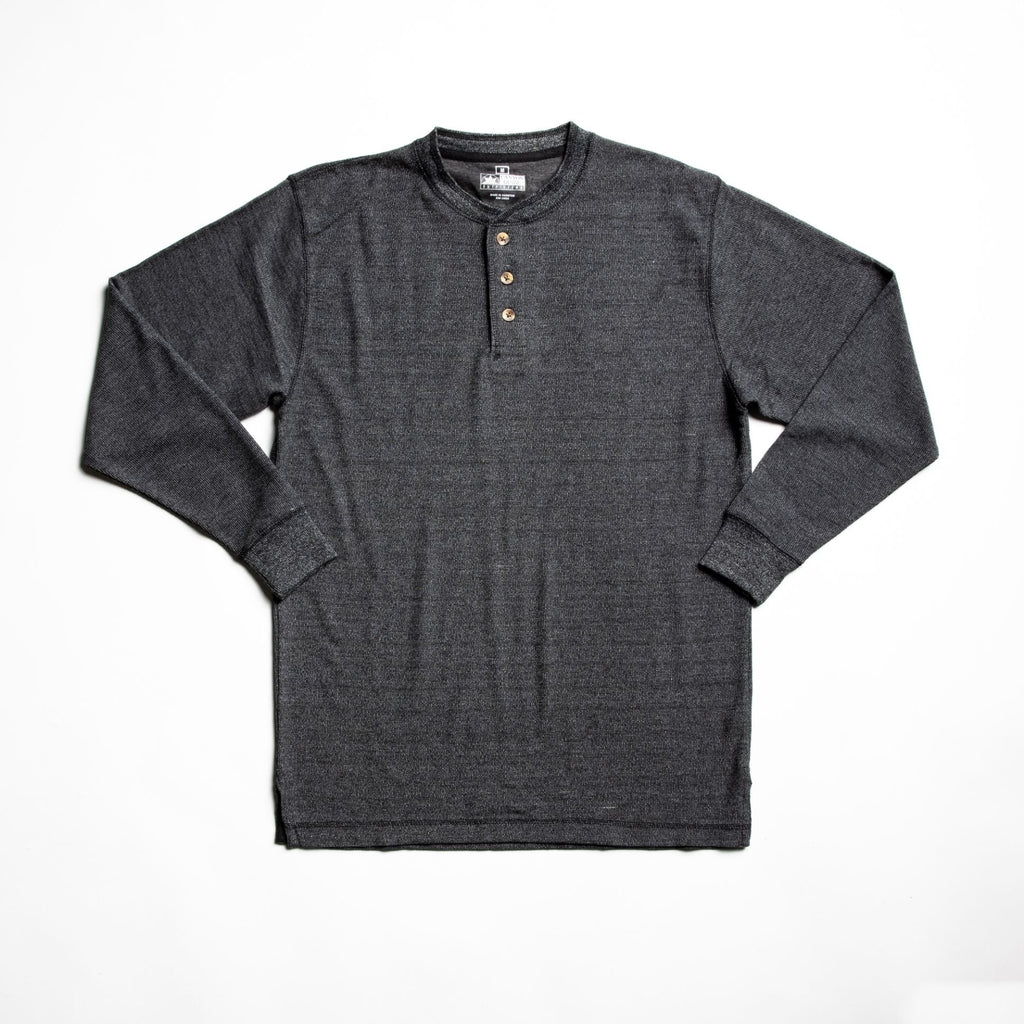Charcoal hartley long sleeve t-shirt