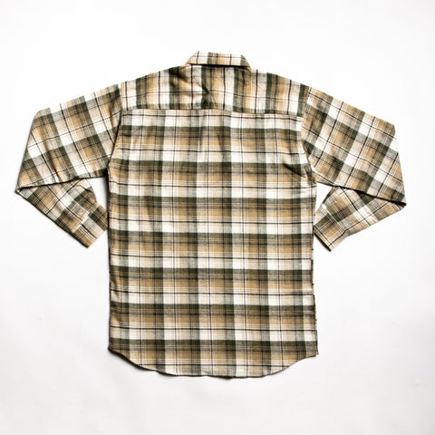Natural juneau flannel