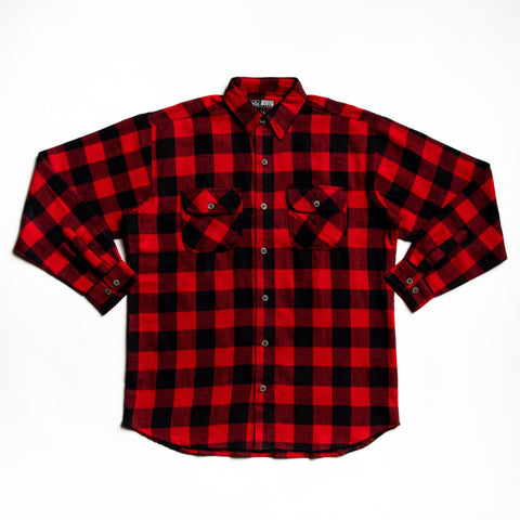 Red and black juneau flannel
