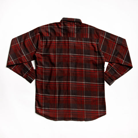 Red juneau flannel