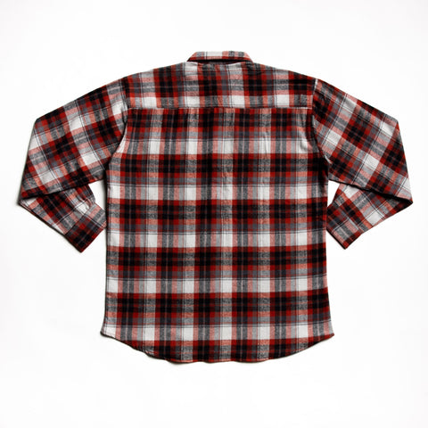 Image of Rust juneau flannel