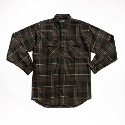 Image of Olive juneau flannel