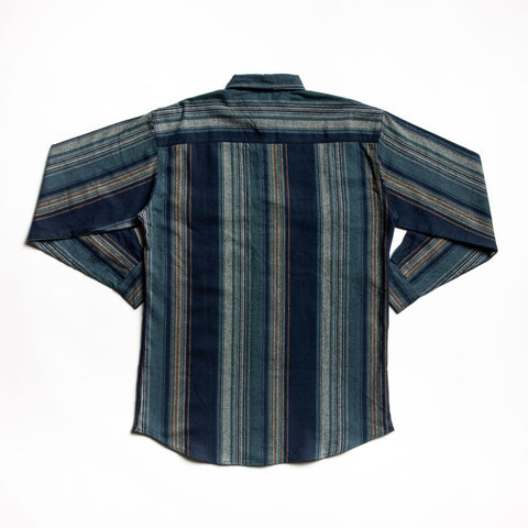 Image of Indigo juneau flannel