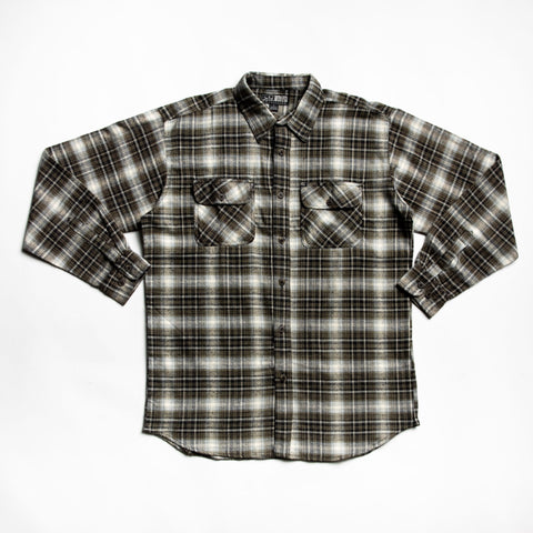 Charcoal juneau flannel