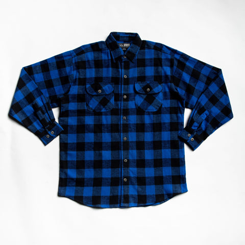 Image of Blue Juneau flannel