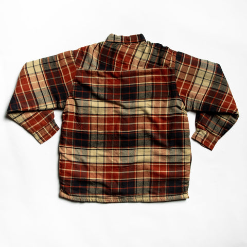 Burnt orange lakewood flannel