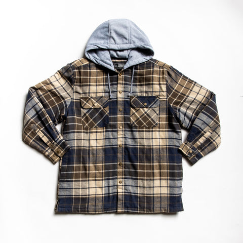 Image of Olive providence shirt jacket
