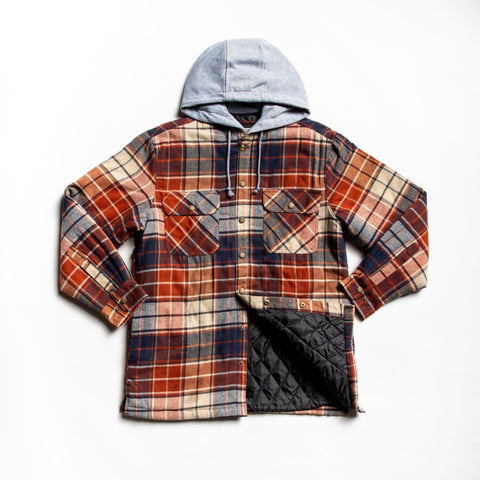 Rust providence shirt jacket