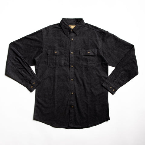 Image of Graphite great plains long sleeve button down