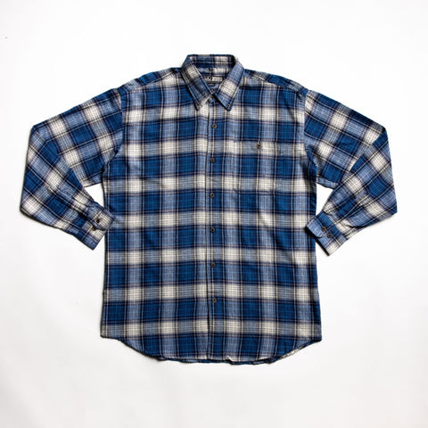 Image of Well crafted Blue flannel